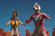 Mebius vs Zetton