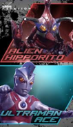 Alien Hipporito v Ultraman Ace pic