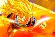 SSJ3 Goku vs HUGE Janemba