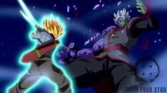 Trunks kill Zamasu Shining Finger Sword style!!-2