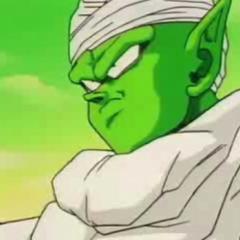 Piccolo faces off against Frieza