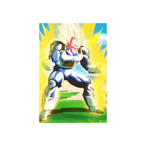 Ascended Super Saiyan Vegeta