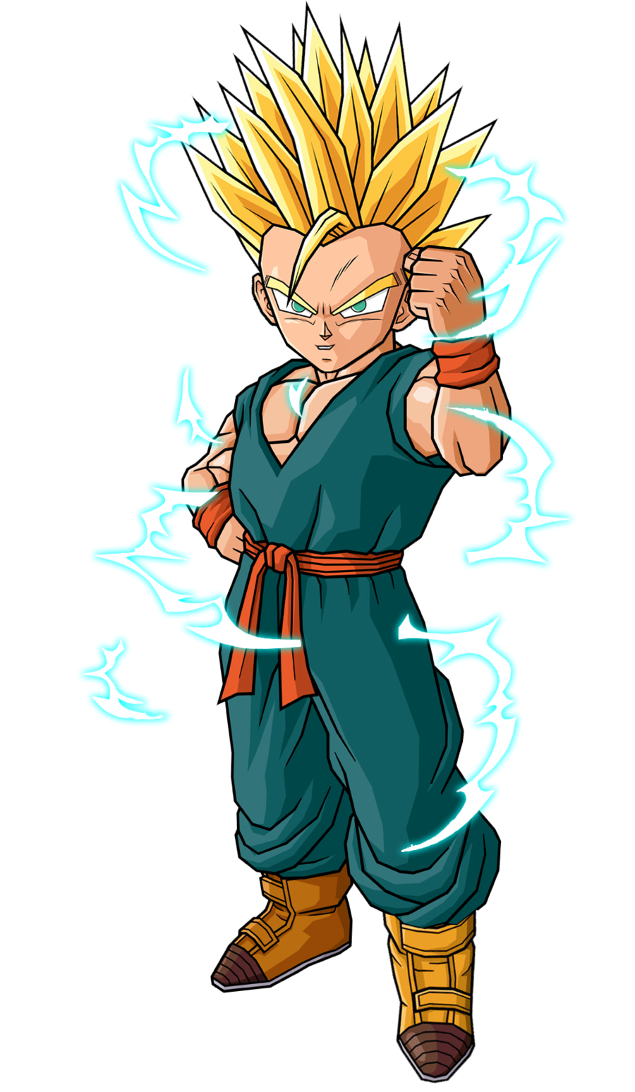 Kid Goten Super Saiyan 3