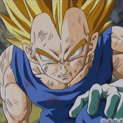 Vegeta in the opening