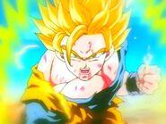 Goku damaged ssj2
