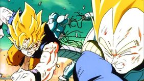 528px-Goku and Vegeta Destroying A Cooler Clone (Return of Cooler)