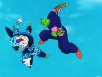 Piccolo Vs Cell Jr