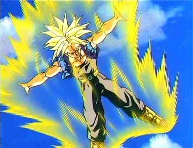 Dragon Ball z Kai Goku Super Saiyan 1000 Games Super Saiyan Future Trunks in