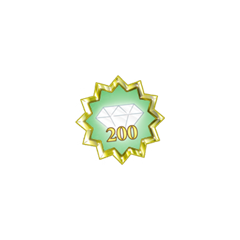 For making 1 edit on pages for 200 days in a row(Gold)