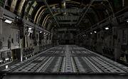 Cargo Plane inside
