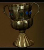Golden Spanish Goblet