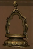 Bronze Oil Lamp