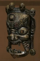Wooden Vajrapani Mask