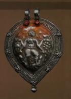 Silver Shiva Amulet