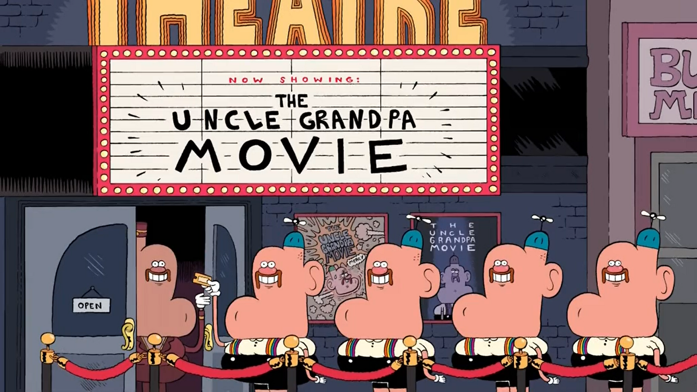 Uncle Grandpa Good Morning Meme : Uncle grandpa movie wiki fandom powered