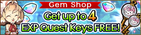 Gem Shop-4 EXP Keys