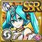 Gear-Crystal Miku Icon