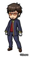 Evangelion-Gendo Ikari Illustration 001