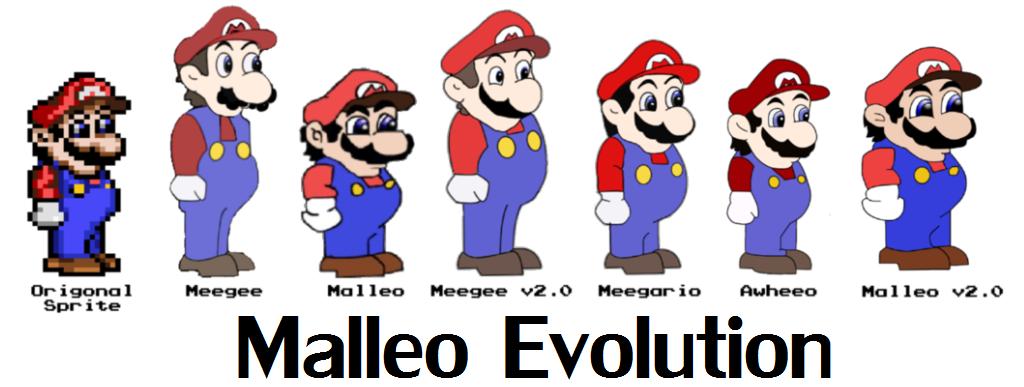 mario and luigi meet malleo weegee