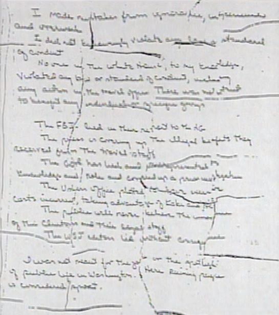 Vince foster2 suicide note