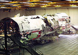 Twa flight 800 wreckage