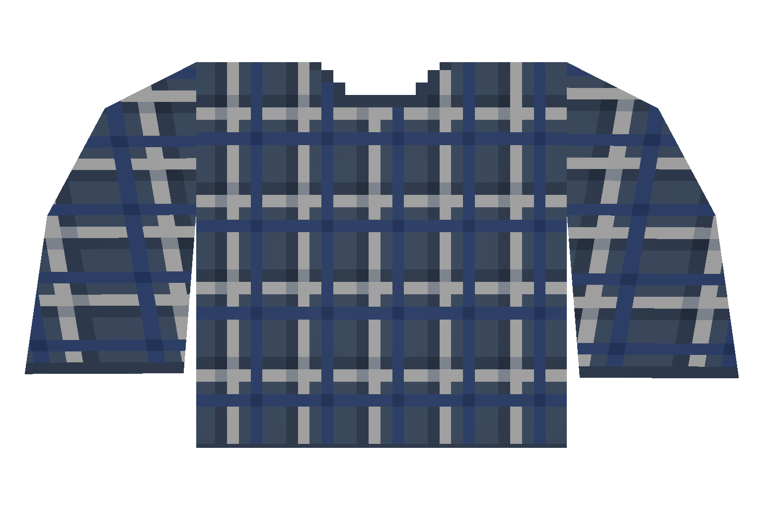 wiki File:Plaid Blue Dark Shirtpng