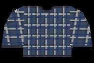 Plaid Blue Dark Shirt