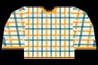 Plaid Orange Shirt