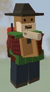 Player holding Desert Eagle