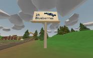 Billboard ''2R Blueberries'' - Washington