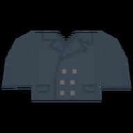 Vintage Trenchcoat Top