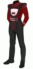 Uniform duty red po 2 security armor