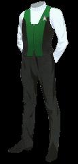 Uniform Vest Green