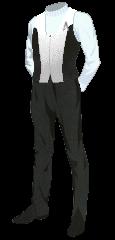 Uniform Vest White