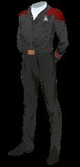 Uniform Jacket Red
