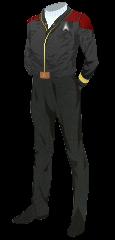 Uniform Jacket Admiral Red