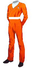 Uniform SFFC Utility Orange