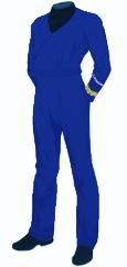Uniform utility blue commodore