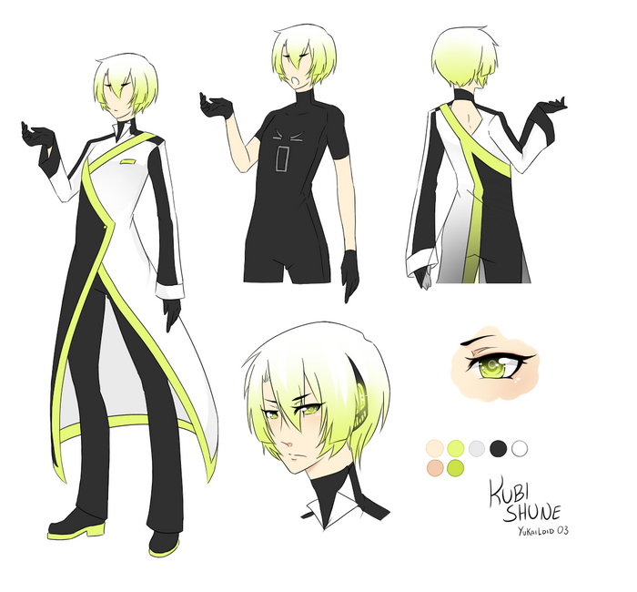 KUBI SHUNE - Reference sheet