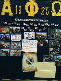 Alpha Phi Omega Board