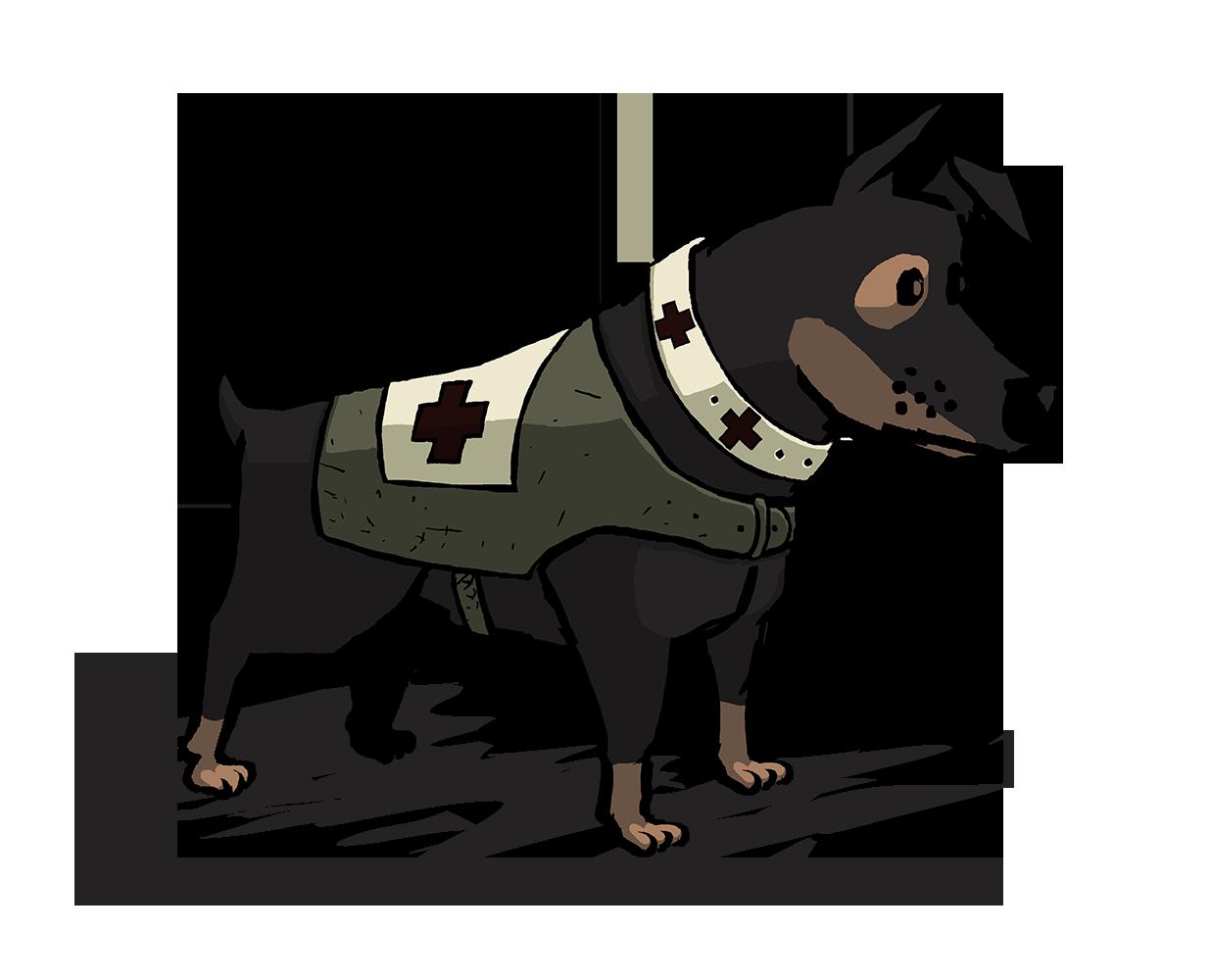 Walt, a dog.