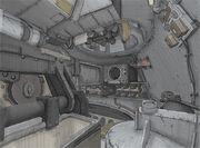 Tank interior