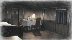 Commander cabin