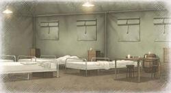 Nameless medical tent