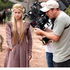 Rebekah - Behind the scenes
