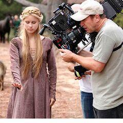 Rebekah - Behind the scenes