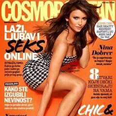 Cosmopolitan — Sep 2013, Croatia, Nina Dobrev