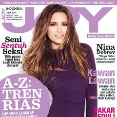 Joy — Apr 2014, Indonesia, Nina Dobrev