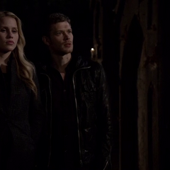 Klaus and Rebekah