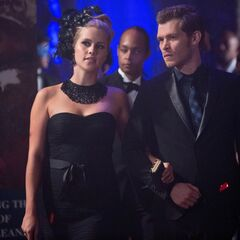 Rebekah and Klaus